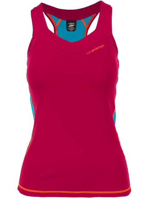La Sportiva Joy - Camiseta sin mangas running Mujer - rojo/violeta